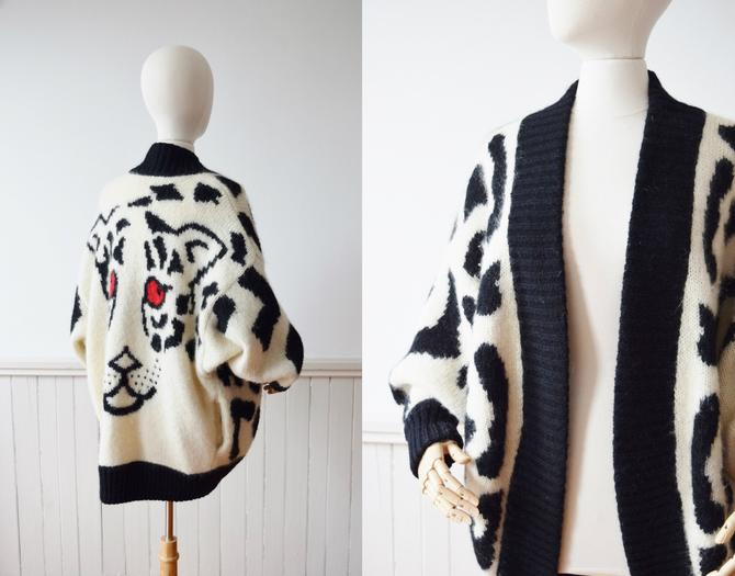 1980s Top of the Food Chain Cardigan | One Size by wemcgee