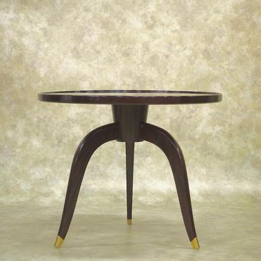 Domi side table (manner of Ruhlmann)  (#1648)