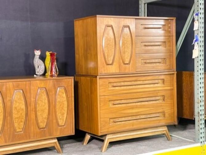 Young Furniture Two-Piece Highboy