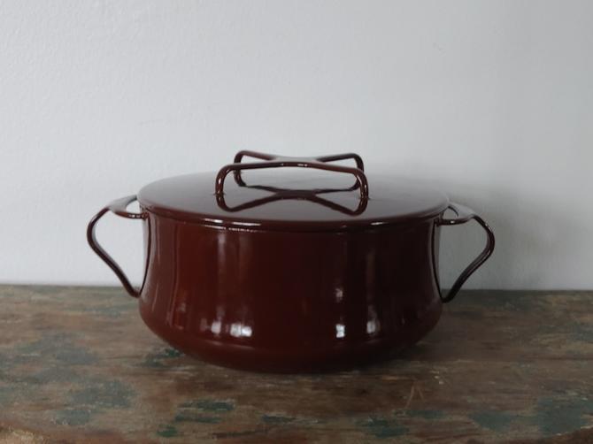 Vintage Dansk Kobenstyle Small Dutch Oven Sauce Pan by Jens Quistgaard by ModandOzzie