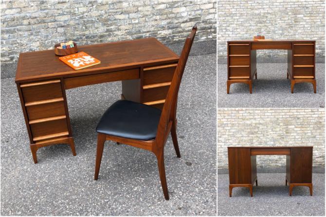 Restored Lane Rhythm Kneehole Desk
