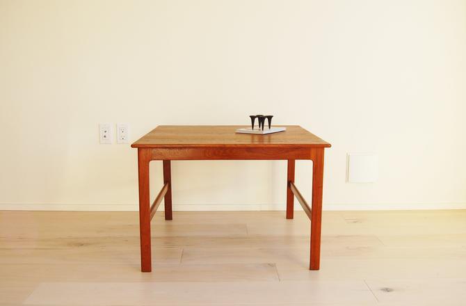 Scandinavian Modern Dux Teak Square Coffee Table Made in Sweden Folke Ohlsson by MidCentury55