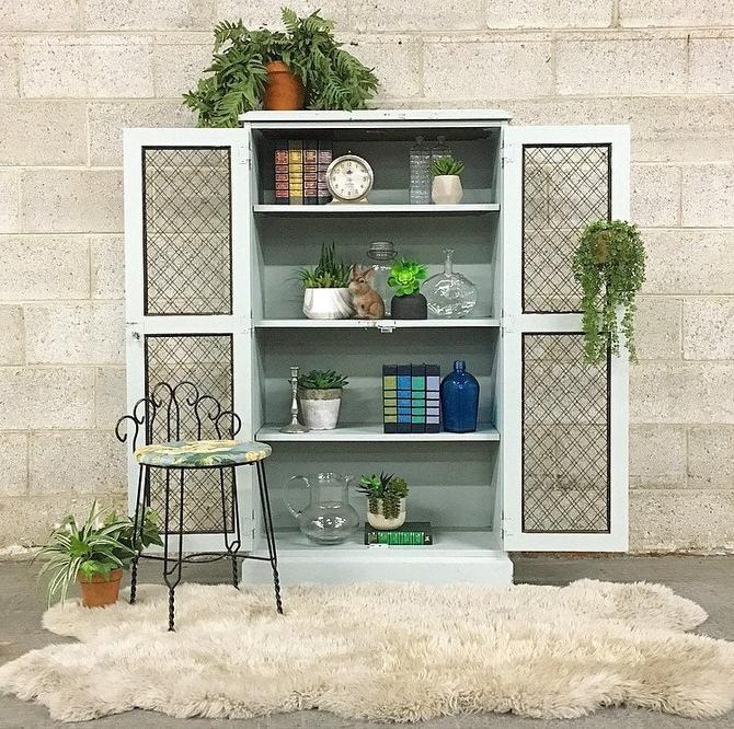 LOCAL PICKUP ONLY -------------- Vintage Farmhouse Cabinet by RetrospectVintage215