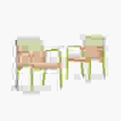 armchairs model 45, pair (Alvar Aalto)