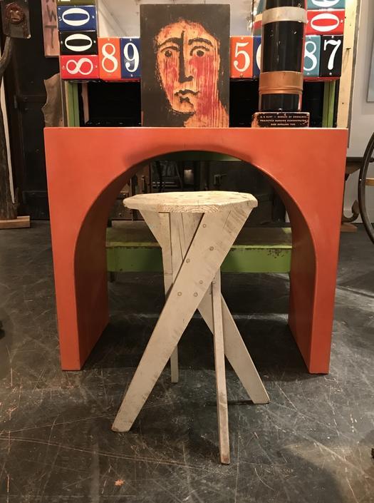 Orange Console Table
