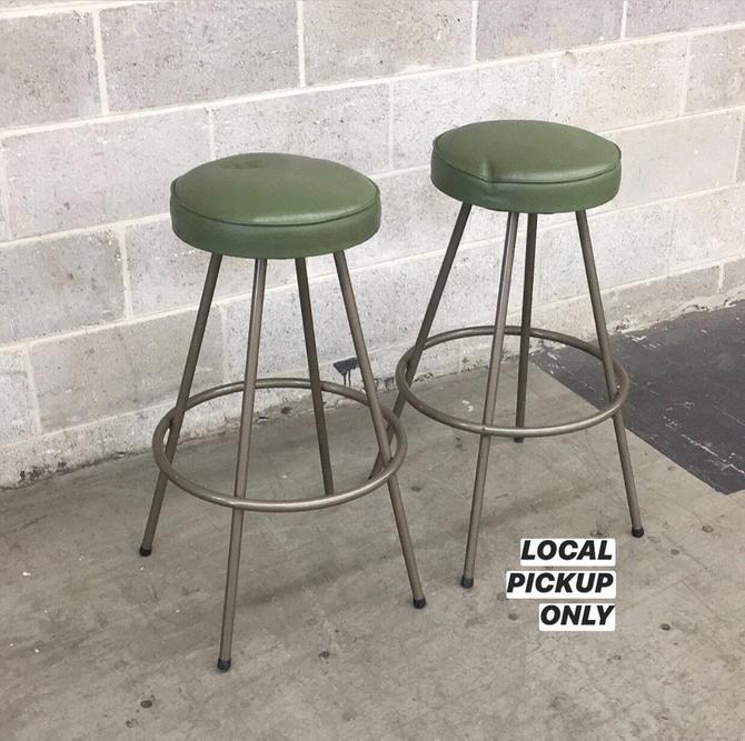 LOCAL PICKUP ONLY ———— Vintage Calorator Bar Stools by RetrospectVintage215