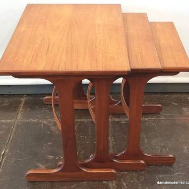 Fresco Nest Tables   Designed by V.B. Wilkins   1965   England