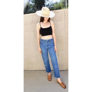 USA Levi's 501xx Jeans // vintage Levis medium light faded wash Levi 80s 90s hippy 31 501 501s // 26 by FenixVintage