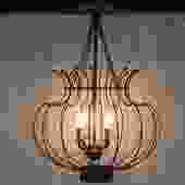4-Light Chandelier by Currey & Company