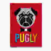 Pugly Pug Tea Towel
