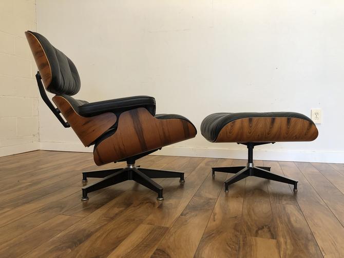 Eames 670-671 Chair & Ottoman 1984
