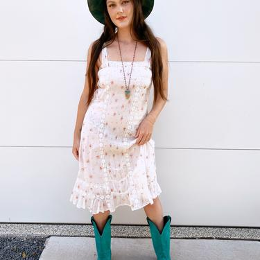 Cream Floral Ralph Lauren Dress