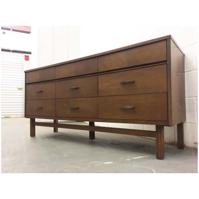 #467: Mid Century Triple Dresser