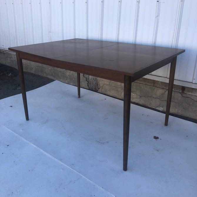 Mid century walnut dining table by Stanley