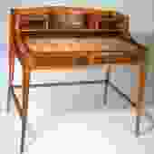 Leon Jallot desk and chair (#1515)
