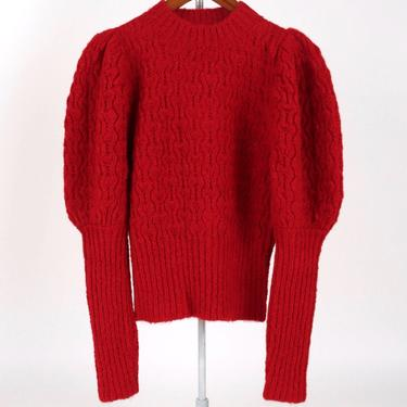 Love Sweater -  Cherry Red