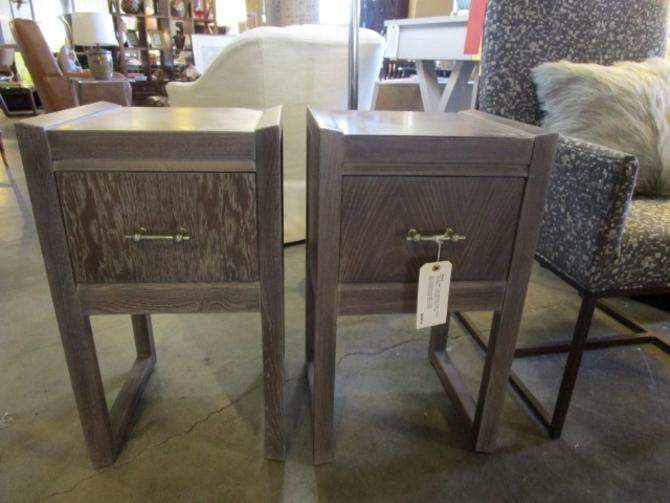 PAIR OF MID CENT MODERN SIDE TABLES