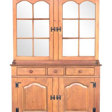 Drexel American Traditions Pine Stepback Hutch by 2ndStoryTradingCo