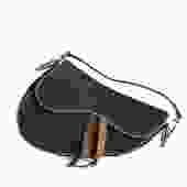 Dior Denim Saddle Bag