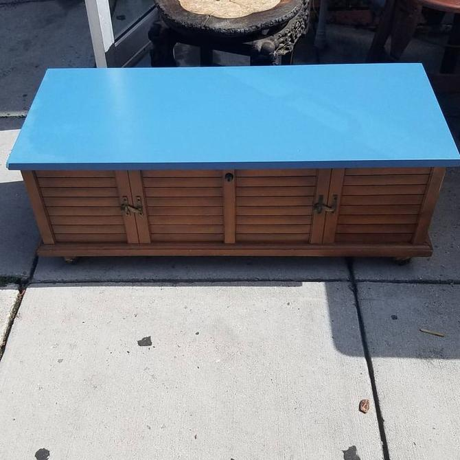 Lane Cedar Chest/Coffee Table Combo, $87. From Mom N Pop
