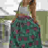 Maxi Skirt (Blue)