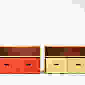 Pair of Artek Cabinets by Alvar Aalto for Paul Rand House