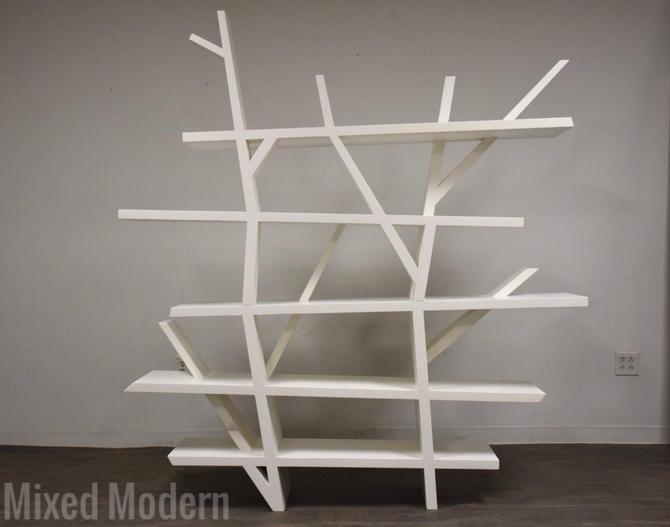"Roche Bobois White Lacquer ""Legend"" Bookcase by mixedmodern1"