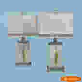 Pair of Greek Key Lamps