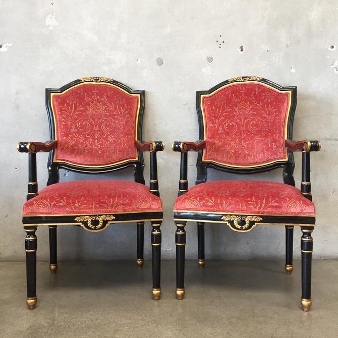 Pair of French Neoclassical Style Chairs