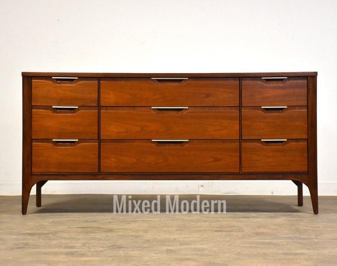 Kent Coffey Impact Walnut Dresser by mixedmodern1
