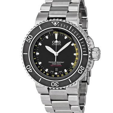 ORIS Aquis Depth Gauge Automatic 46MM Dive Watch! by LynxHollowAntiques