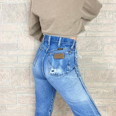 Wrangler High Waisted Western Jeans / Size 27 by NoteworthyGarments