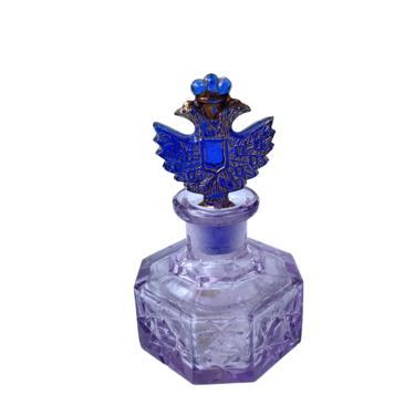 Purple Glass Perfume Bottle by FunkyRelic