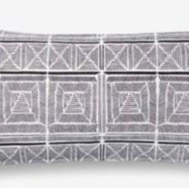 Black/White Long Pillow