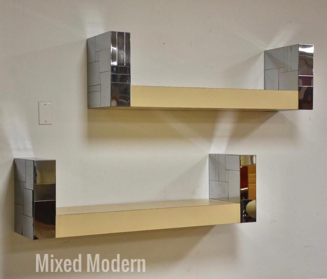 Paul Evans Cityscape Bookshelves- a Pair by mixedmodern1