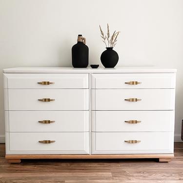 White MCM Dresser by madenewdesignct