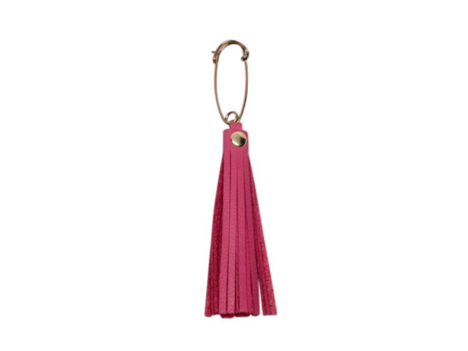 Kilt Pin Key Ring by Sarah Cecelia Pink Tassel Key Ring by SarahCecelia