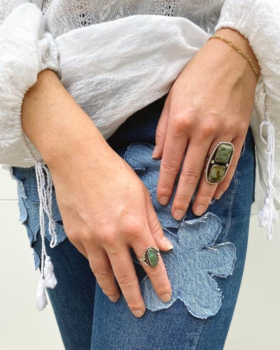 Handmade Jasper Nesting Ring
