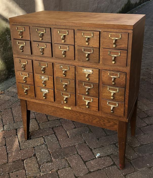 Card Catalogue Cabinet