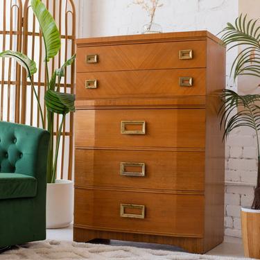 Harmony Art Deco Dresser Brass Hardware