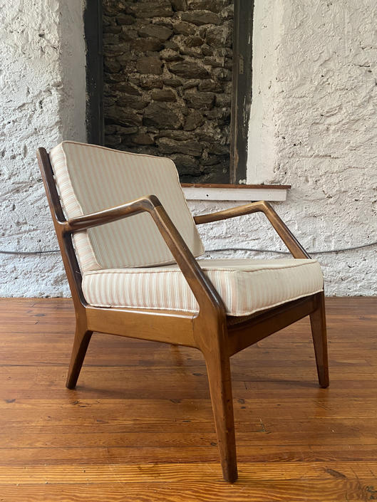 Mid century lounge chair Danish modern Lounge chair mid century arm chair by VintaDelphia