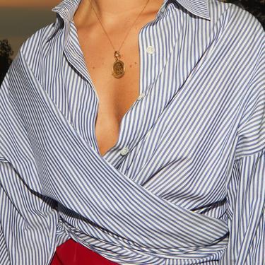 Cotton Stripes Lola Shirt