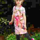 Radish Child Apron