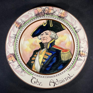 Royal Doulton The Admiral Plate The Professionals Collection Made in England by accokeekpickers