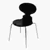 Arne Jacobsen c. 1975 Fritz Hansen Black