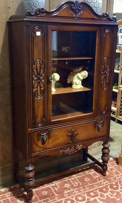 Wood cabinet available at Habitat for Humanity Restore Rockville $175