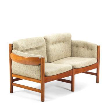 Mid Century Danish Modern Sofa in Solid Old Age Teak by Jydsk Mobelvaerk by ABTModern