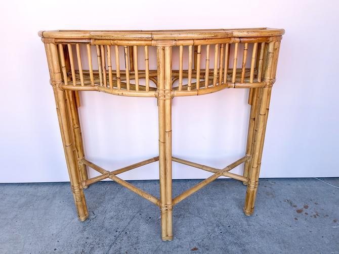 Island Chic Bamboo  Demilune