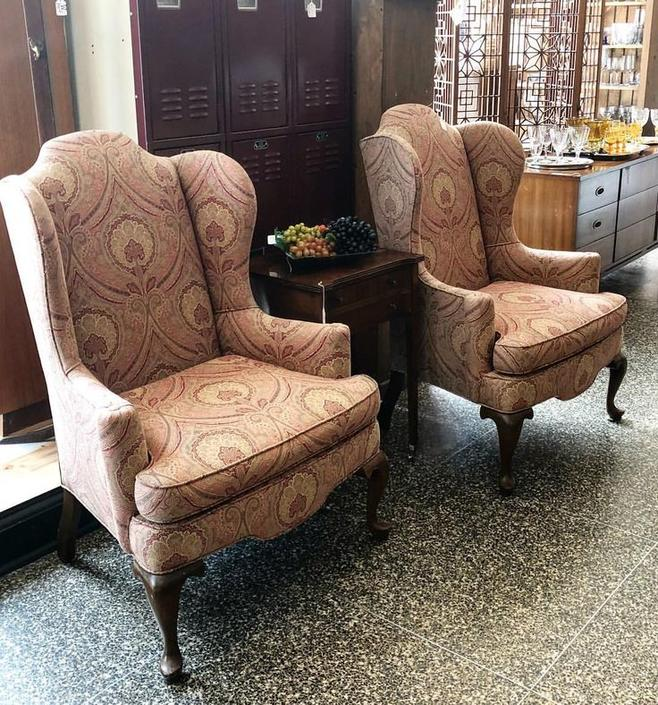 Paisley Wingbacks! $225 each
