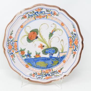 Vintage Ceramic Decorative Wall Plate by CapitolVintageCharm